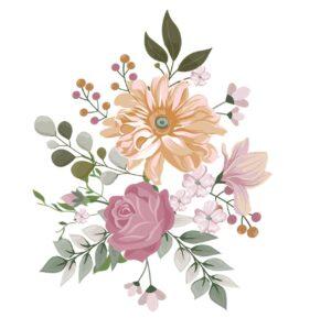 Soru 13: Renkli Çiçek Resmi Nasıl Çizilir?